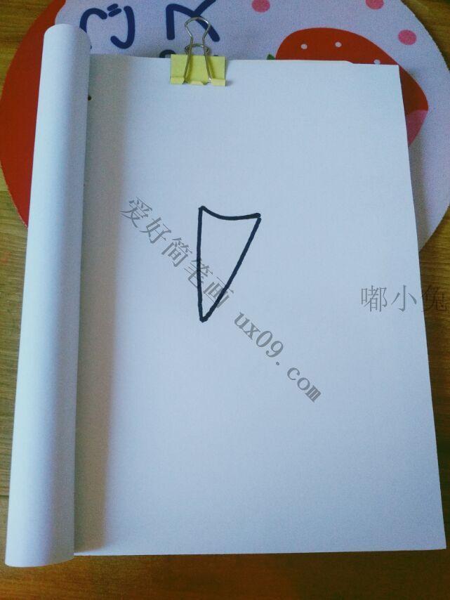 冰激凌简笔画步骤简单易学 儿童简笔画图片大全 儿童简笔画图片教程 爱好