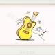 一步一步教你画吉他简笔画