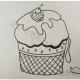 简笔画蛋糕奶油的画法