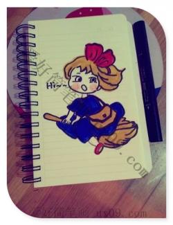 小女孩简笔画漂亮可爱又简单