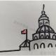 简单的白宫简笔画教程图片