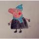 小猪佩奇简笔画的画法步骤图片