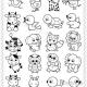 336种小动物简笔画图片,超级简单