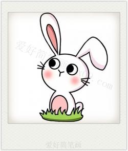 兔子怎么画简单漂亮