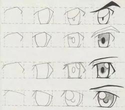 人物眼睛简笔画大全