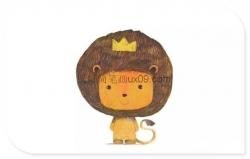 萌萌小狮子图片简笔画