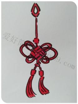中国结怎么画简笔画