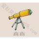 天文望远镜简笔画步骤