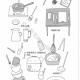 厨房用品简笔画教程图片大全