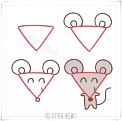 三角形画动物大全-画法步骤大全