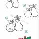 最简单的梨子怎么画