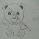 小熊怎么画一步一步教