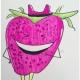 草莓卡通简笔画画法图片