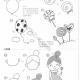六一儿童节元素简笔画教程