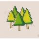 简单的松树简笔画画法教程