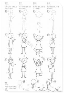 简笔画人物画法教程