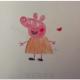 小猪佩奇简笔画彩色步骤