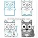 由长方形画出简易动物的教程图片