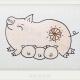 可爱的小猪宝宝和猪妈妈简笔画画法