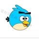 愤怒的小鸟简笔画画法