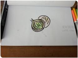 洋葱简笔画怎么画
