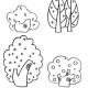 简笔画树的画法最简单