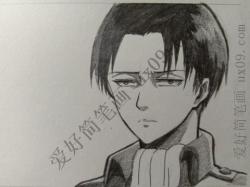 高冷帅气男生简笔画