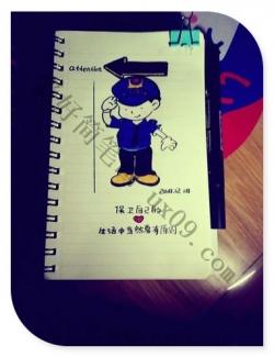 小小公安简笔画
