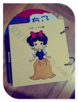 小公主简笔画漂亮可爱