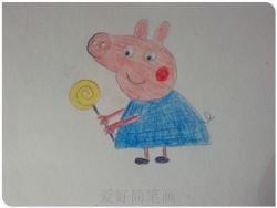 一步一步教你画小猪佩奇简笔画