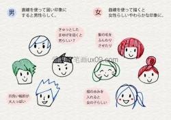 日系小清新手账简笔画
