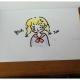 简单几笔画出可爱的小女孩
