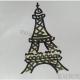 怎么画埃菲尔铁塔的简笔画