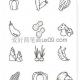 十二种简单的蔬菜简笔画图片