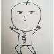 卡通苹果简笔画怎么画