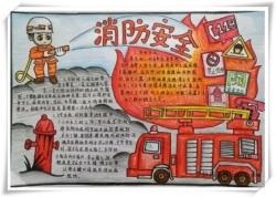 消防手抄报图片大全简单