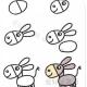毛驴的简单画法