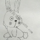 萌萌哒小兔子简笔画