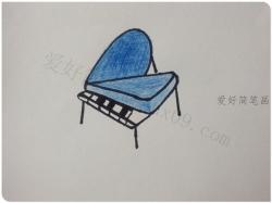最简单的钢琴怎么画