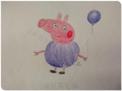 最详细的小猪乔治简笔画教程图片