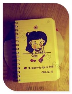 可爱女孩简笔画