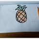 菠萝怎么画简单又漂亮