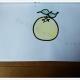 柚子画简笔画画法步骤图片