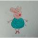 跳舞的小猪佩奇简笔画步骤