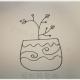 简单的盆栽怎么画