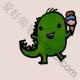 超萌超简单的小恐龙简笔画教程图片