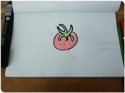 番茄怎么画