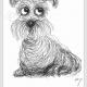 奇思妙想创意小狗简笔画