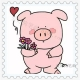 简单可爱的小猪怎么画