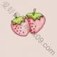 简笔画草莓的画法
